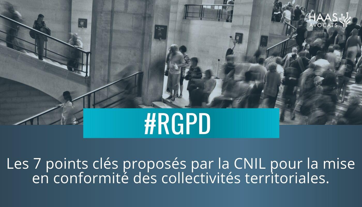 Collectivités Territoriales et RGPD : La CNIL donne le programme