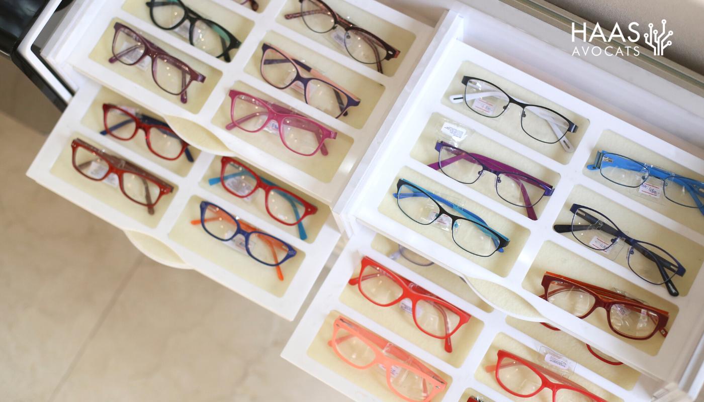 Des fabricants de lunettes sanctionnés pour prix de vente imposés