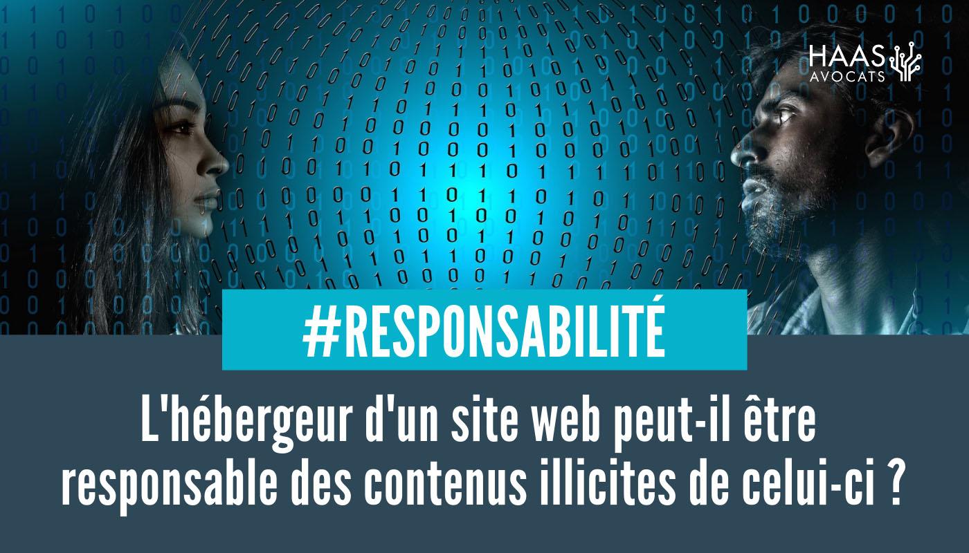 Hébergeur et responsable de traitement de données personnelles : deux entités distinctes !
