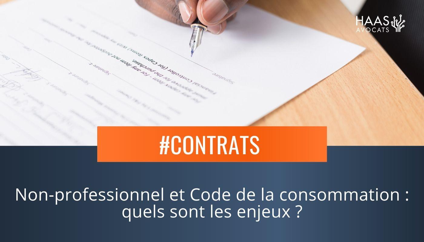 Un professionnel peut-il être protégé par le code de la Consommation ?