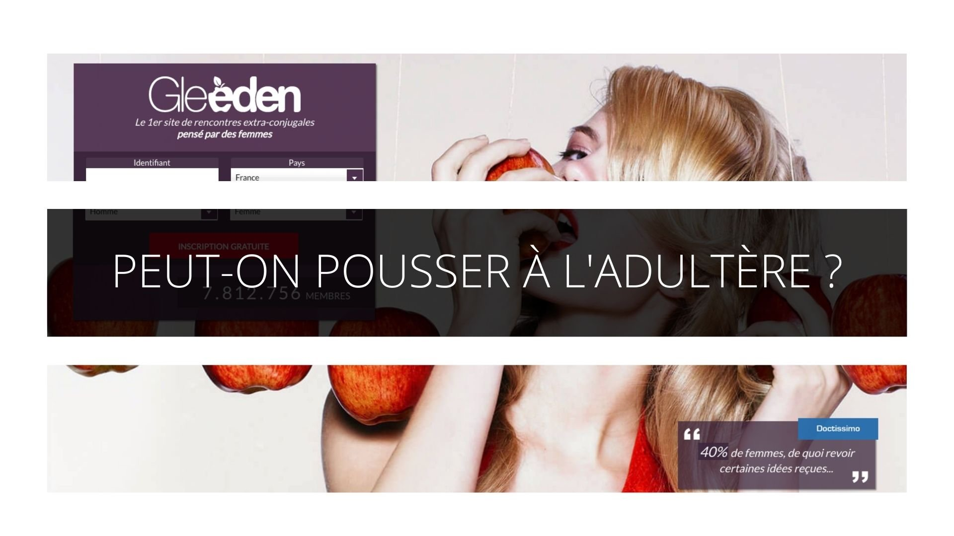 Peut-on interdire la publicité d'un site internet qui pousse à l'adultère ?