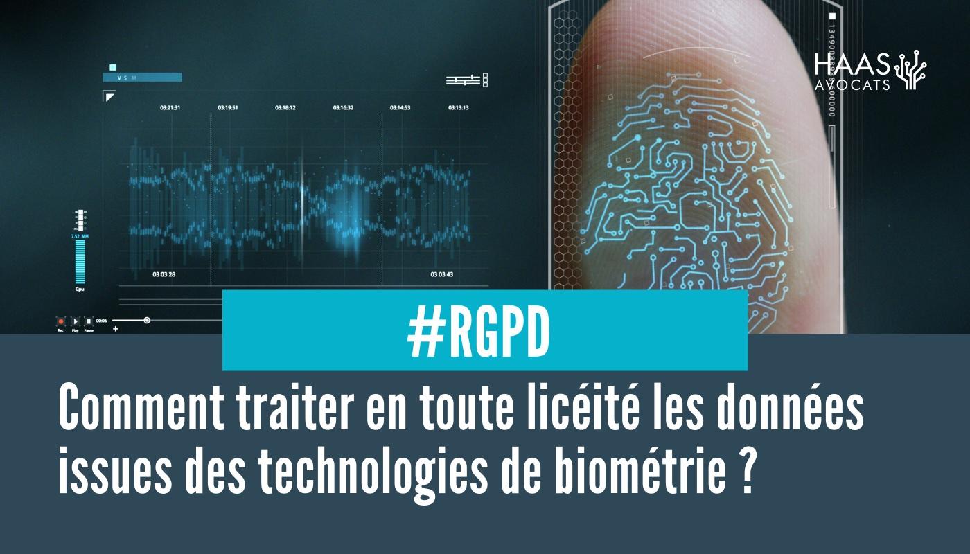 #RGPD : Données biométriques et obligations de l'employeur
