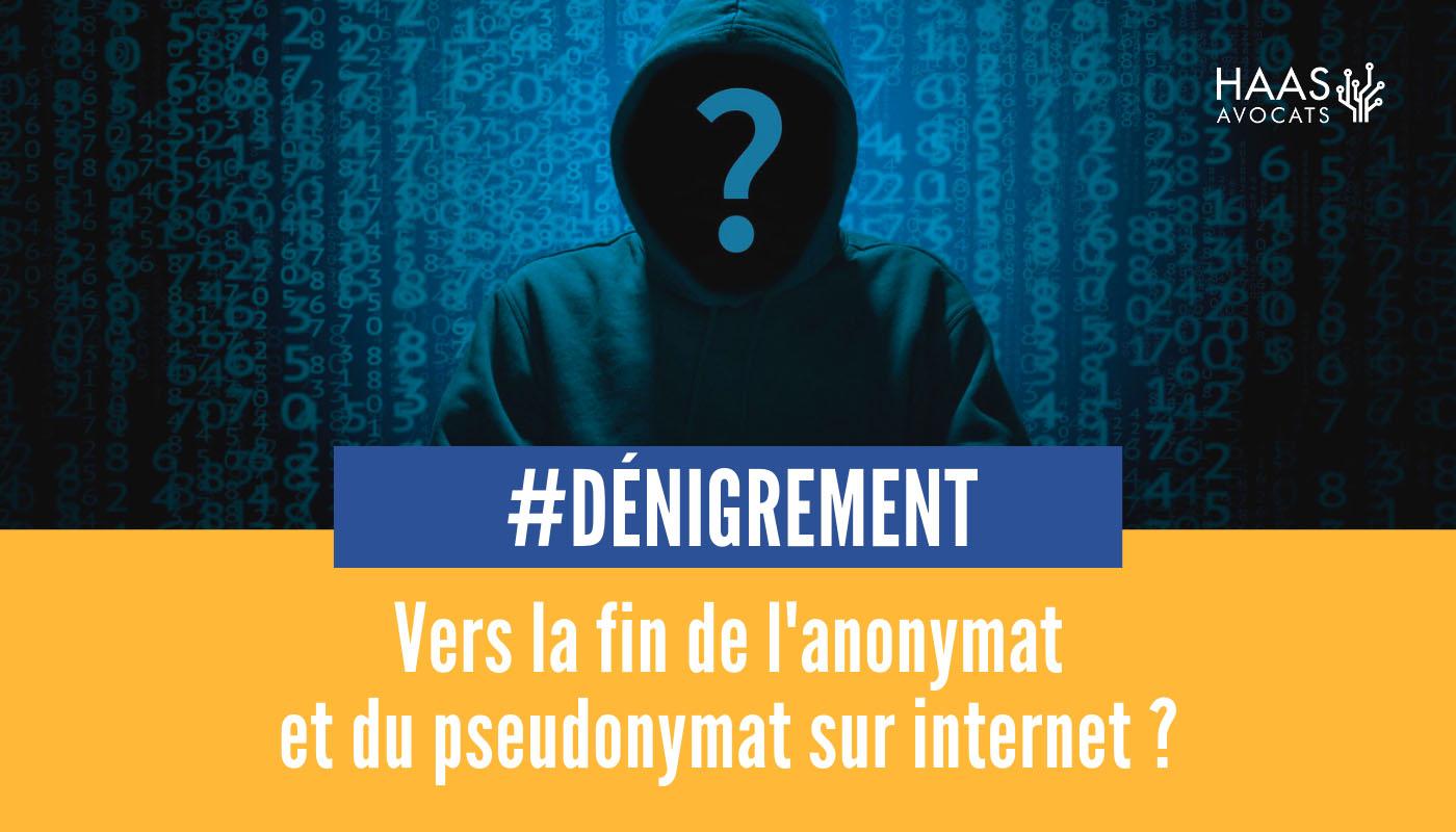 Pour ou contre la fin de l'anonymat sur internet ?