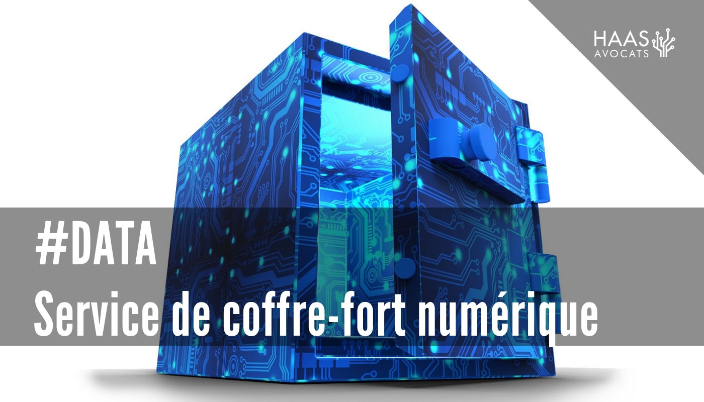 #DATA - Service de coffre-fort numérique