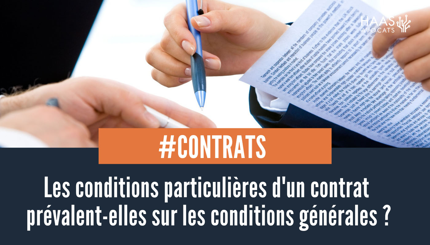 Quelle compatibilité entre les CGV et les conditions particulières d'un contrat de location d'un logiciel ?