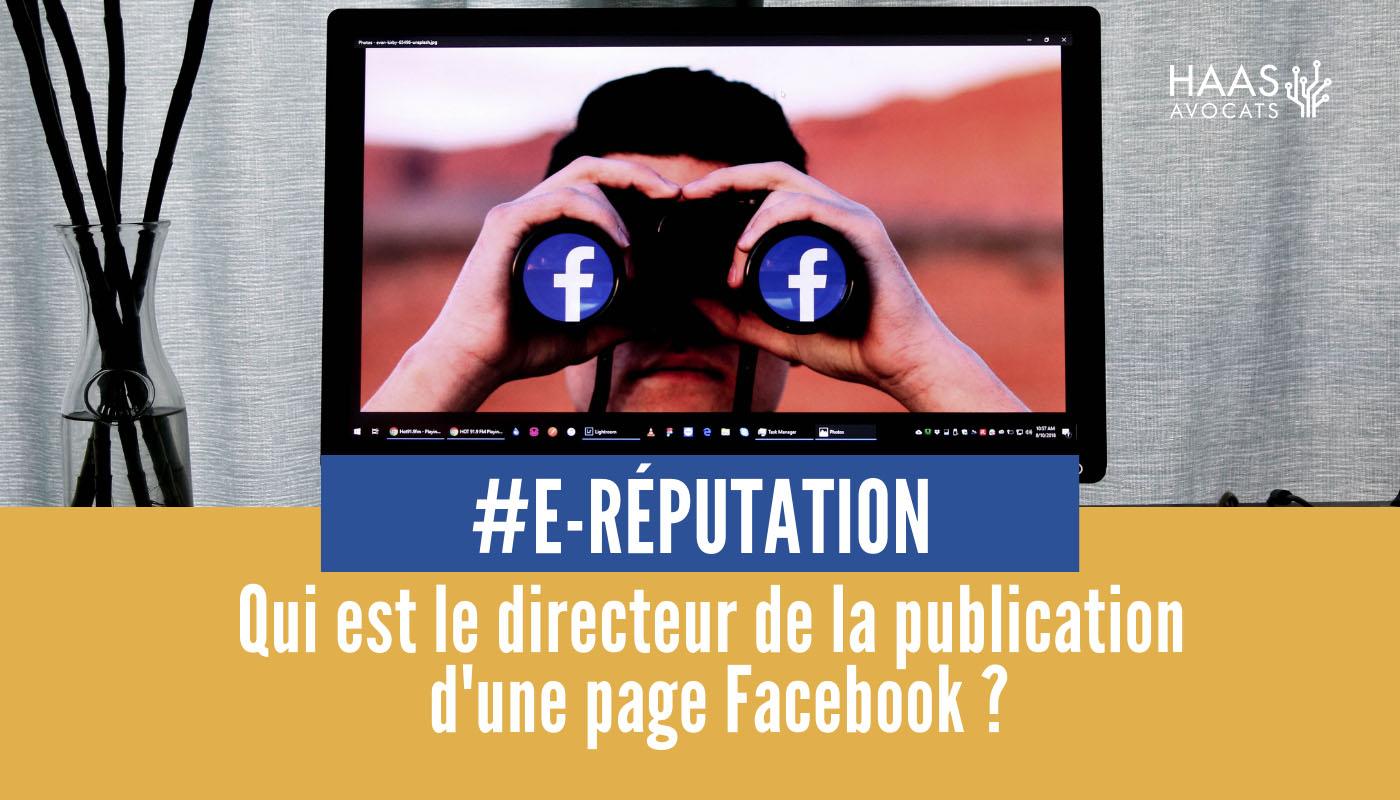 Directeur de publication d'une page Facebook : comment ça marche ?