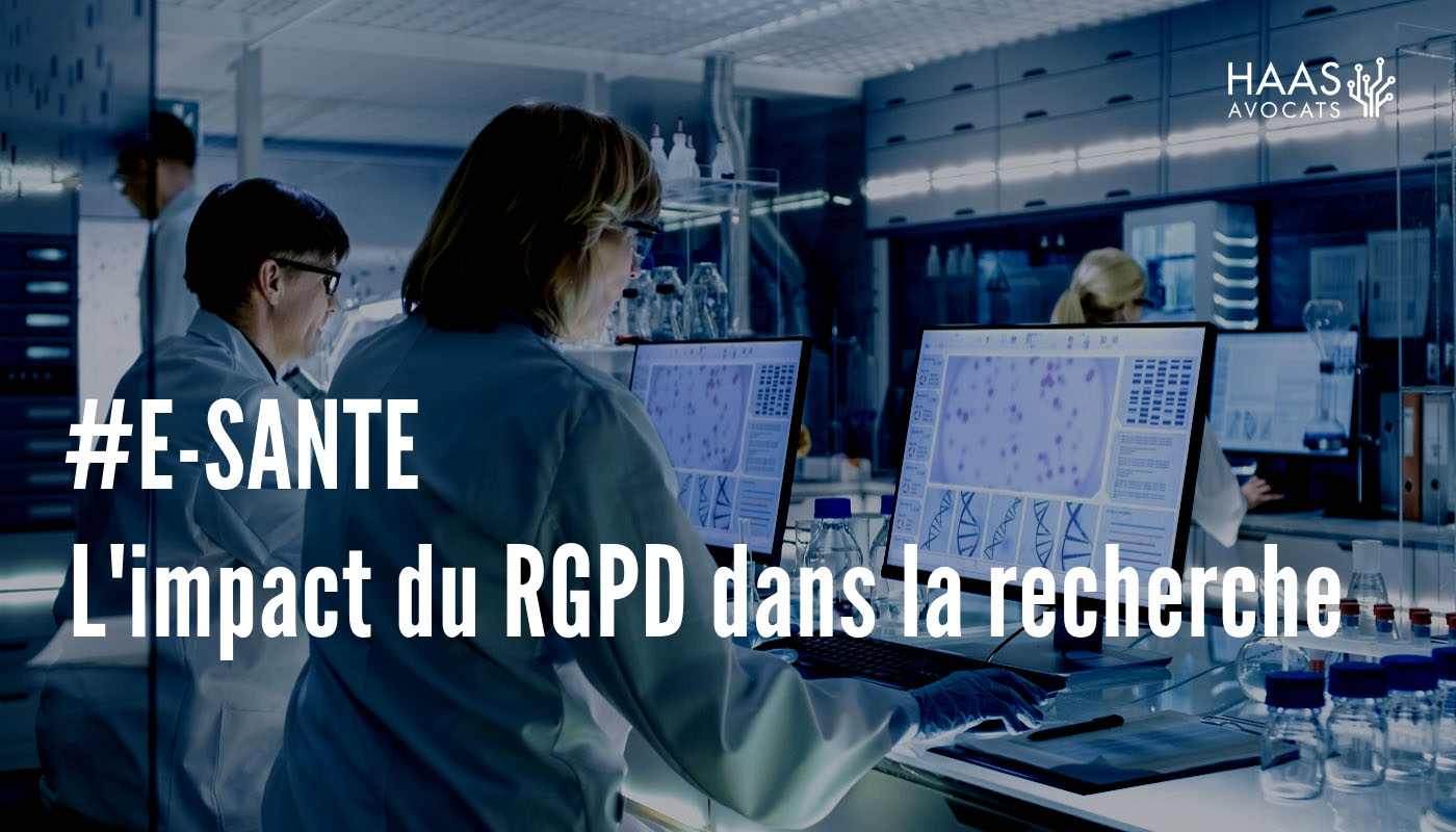 #E-santé : Concilier recherche scientifique et RGPD en 7 points