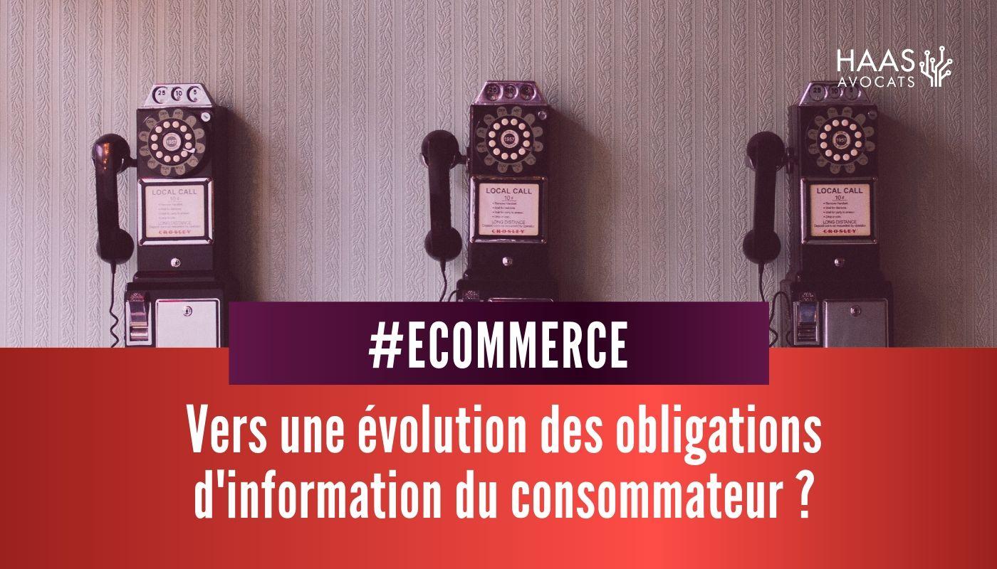 #Ecommerce : un numéro de téléphone ne doit pas être obligatoirement mis à disposition du consommateur